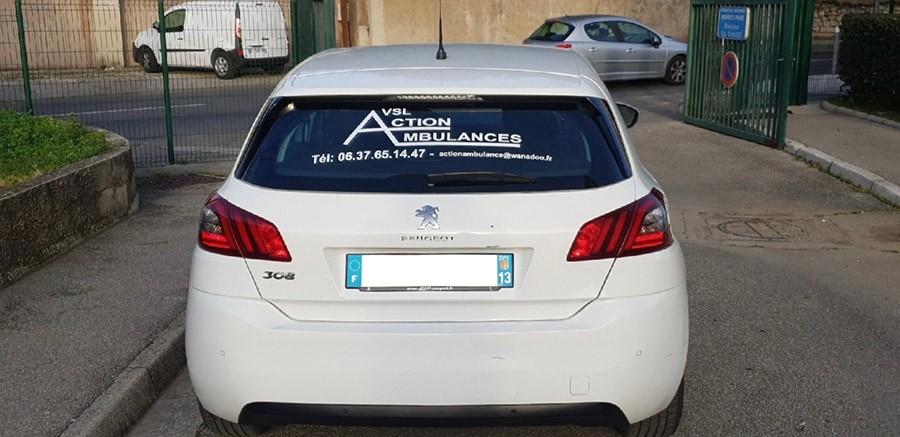 Action Ambulances | Des VSL dans les Bouches-du-Rhône et dans la France entière