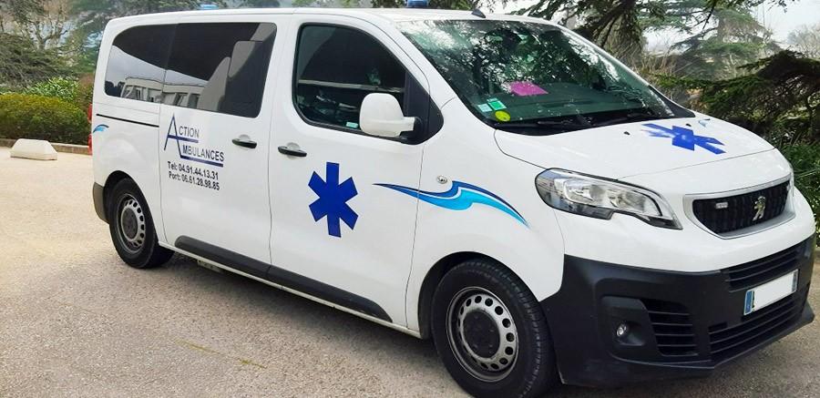 Action Ambulances | Des ambulances pour vos trajets depuis et vers le secteur d'Aubagne