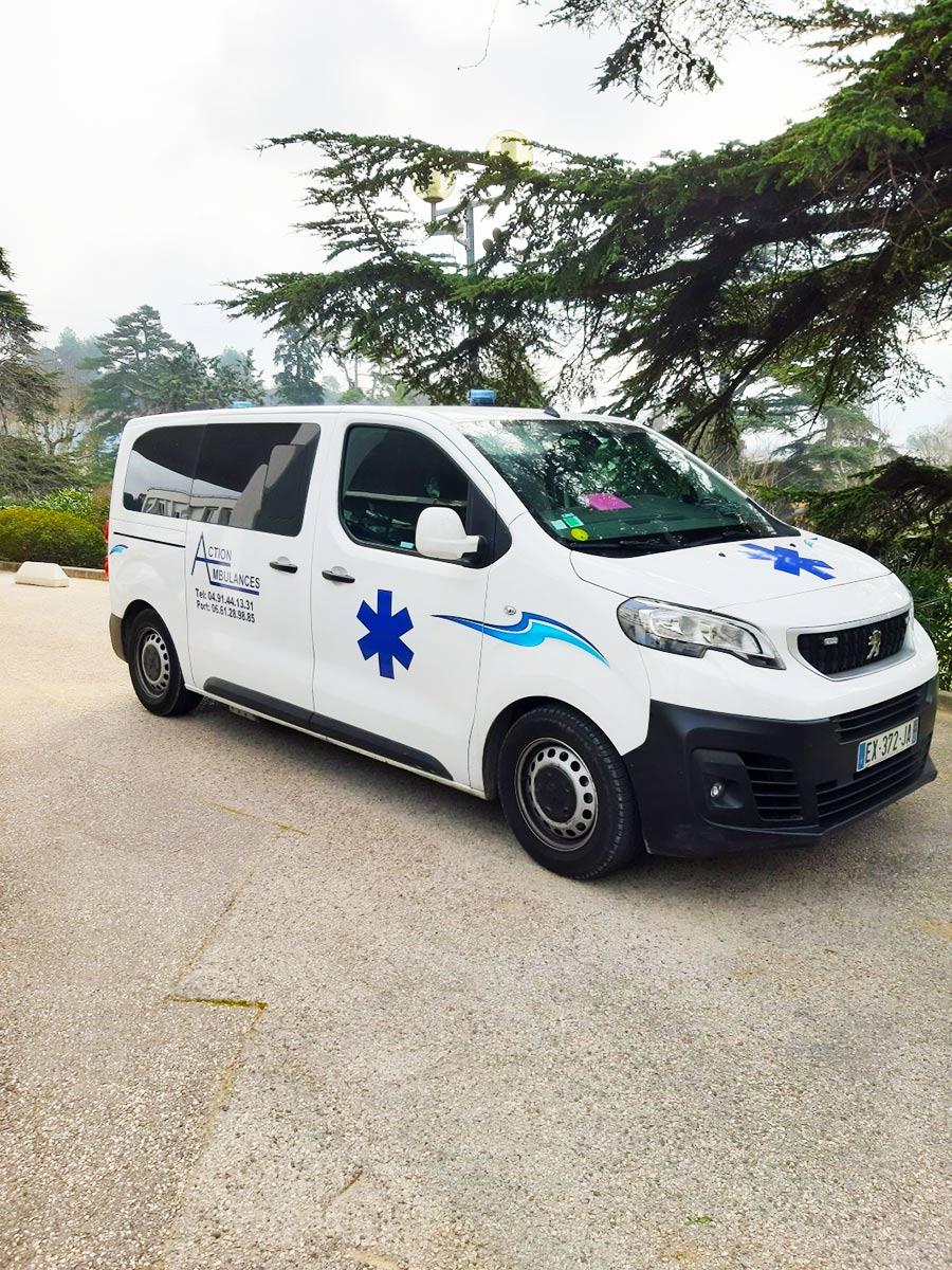 Action Ambulances | Hospitalisation planifiée près d'Aubagne